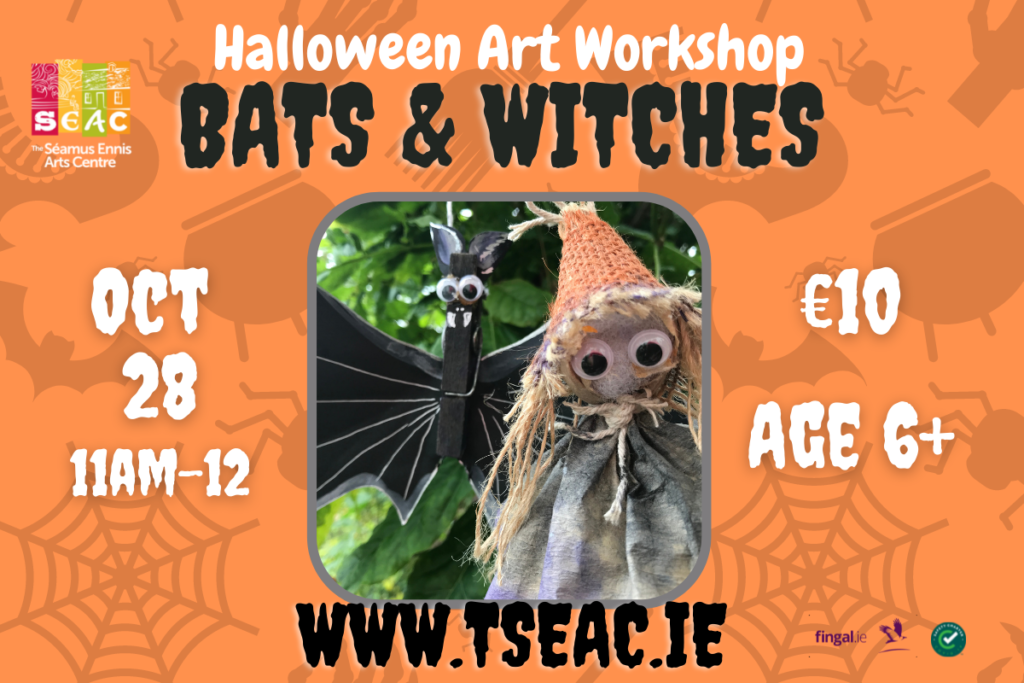 Halloween Bats and Witches Art Workshop